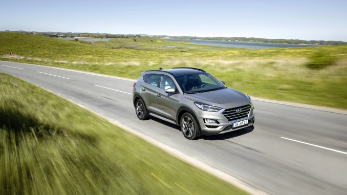 The Hyundai Tucson was Ireland's bestselling car in 2018