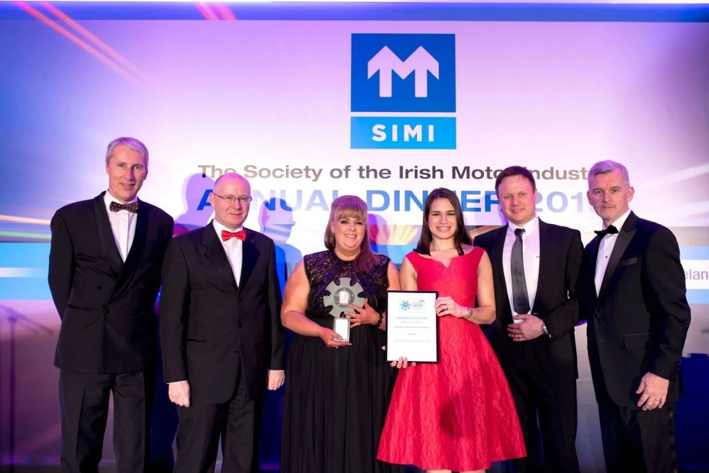The winner of Independent Aftersales Operation of the Year was Autokey, Dublin 22