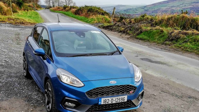 The new Ford Fiesta ST
