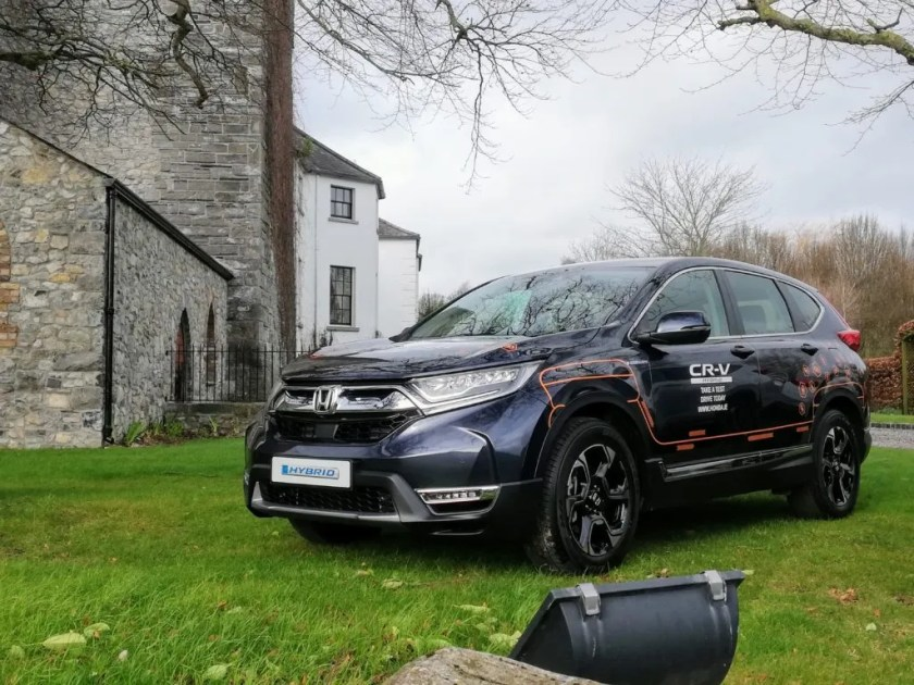 The new Honda CR-V Hybrid pictured at Barberstown Castle, Straffan