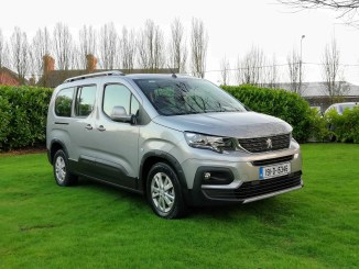 The Peugeot Rifter has just arrived in Ireland