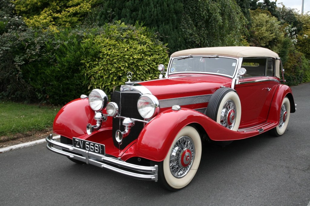 The 1936 Mercedes-Benz 500 K Cabriolet from the O'Flaherty Mercedes-Benz Classic Collection