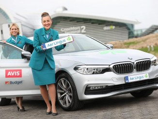 Aer Lingus has announced a new partnership with Avis and Budget on car hire