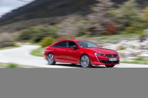 The new Peugeot 508 fastback makes a serious style statement