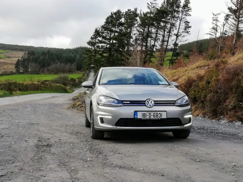 The Volkswagen e-Golf is a lovely car to drive and spend time in