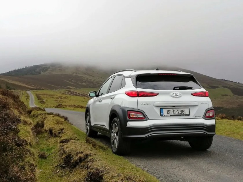 The Hyundai Kona Electric combines two trends - electrification and SUV style