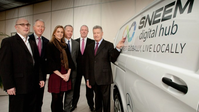 Sneem Digital Hub has been presented with a new Mercedes-Benz Vito van