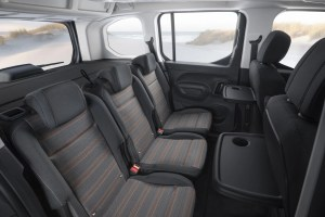 The Opel Combo Life is available in two lengths, with five or seven seats