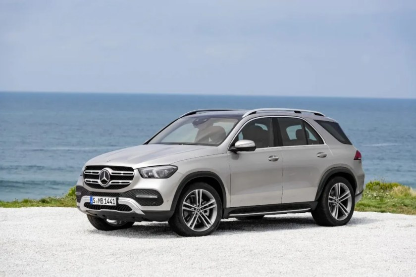 The new Mercedes-Benz GLE