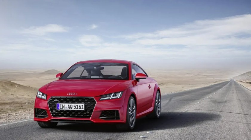 Pricing for the Audi TT Coupé starts from €49,850 on the road