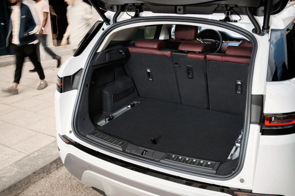 The new generation of the Evoque has a bigger boot