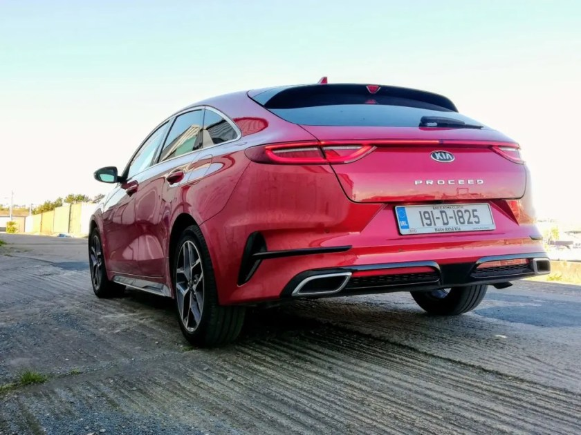 The new ProCeed is design triumph for Kia!