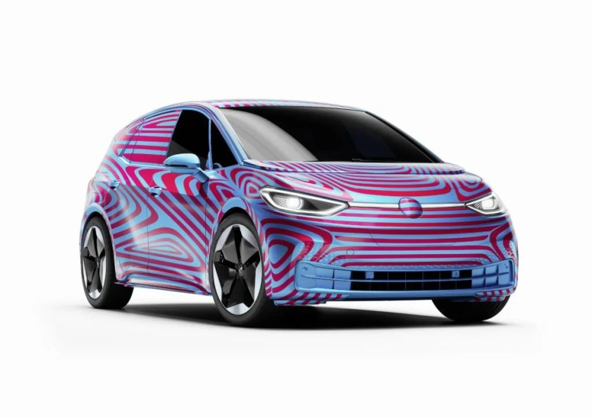 The new ID.3, Volkswagen's all-electric compact car!