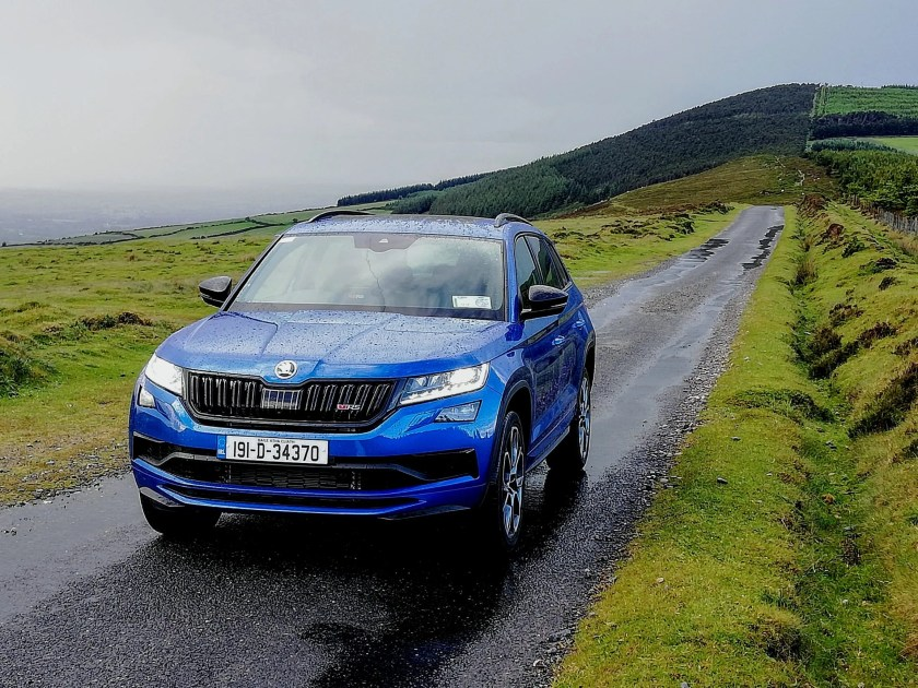 The Skoda Kodiaq RS is available from €62,295