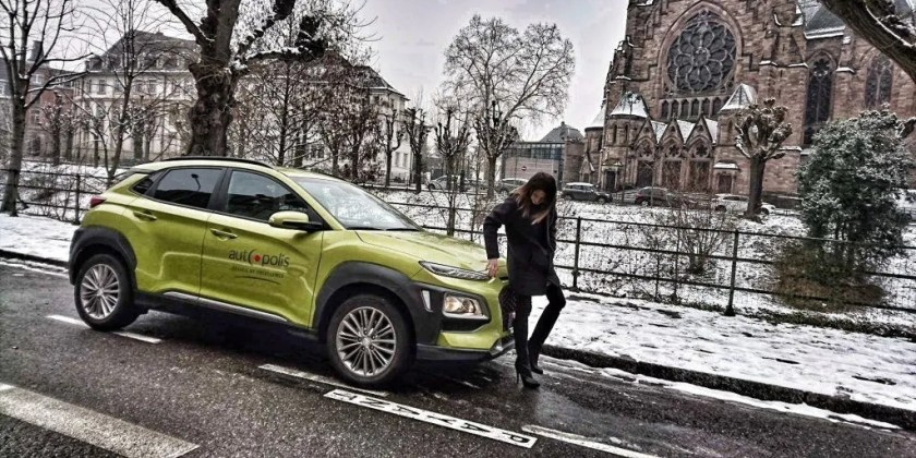 Bianca and the Hyundai Kona