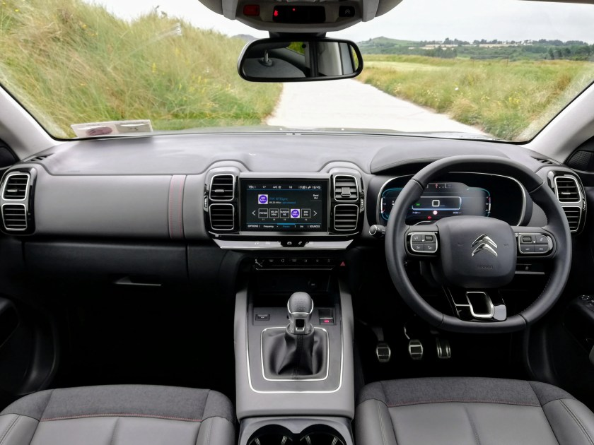 The interior of the new Citroen C5 Aircross