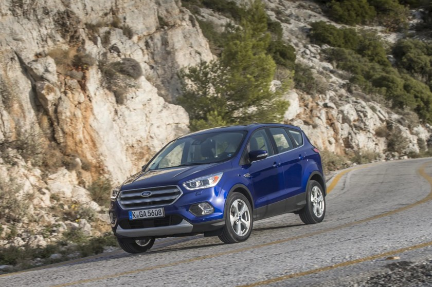 The Ford Kuga sold well in Ireland in September