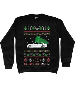 Get your Christmas jumper with your favourite car!