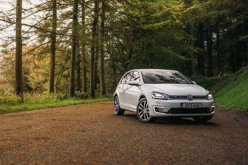 The Volkswagen e-Golf