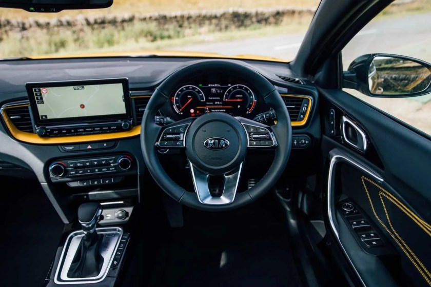 The interior of the new Kia XCeed