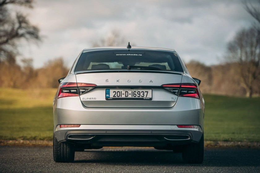 The ŠKODA Superb plug-in hybrid goes on sake from €40,350