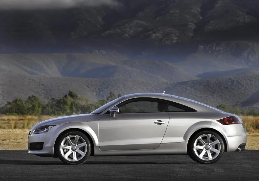 The iconic silhouette carried through three generations of the Audi TT
