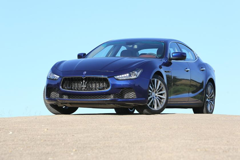 The Ghibli is the most popular Maserati in Ireland
