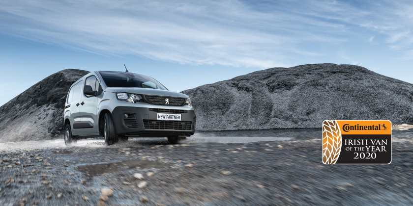 Great success for the Peugeot Partner in the new van market