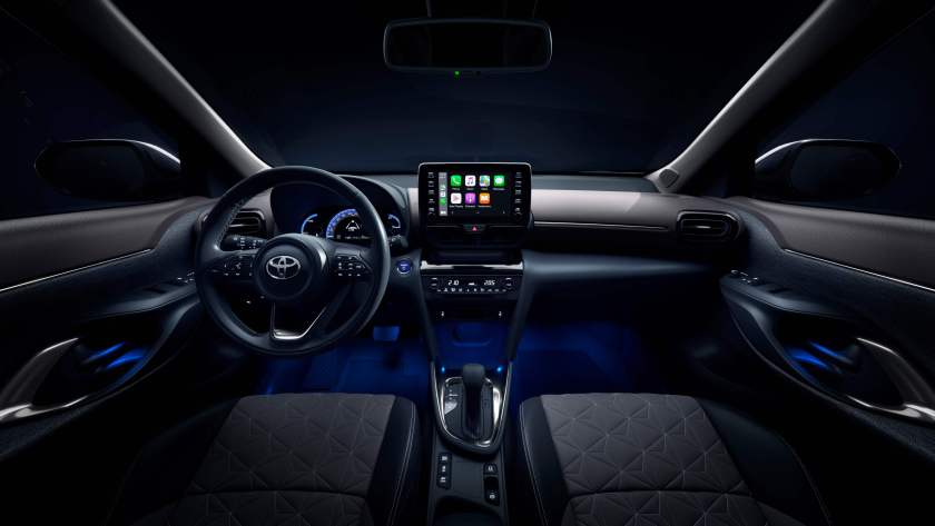 Inside the Yaris Cross