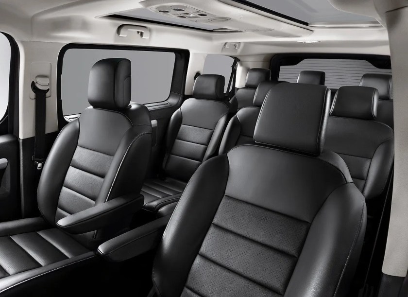 The Zafira Life is available with 7 or 8 seats in a number of configurations