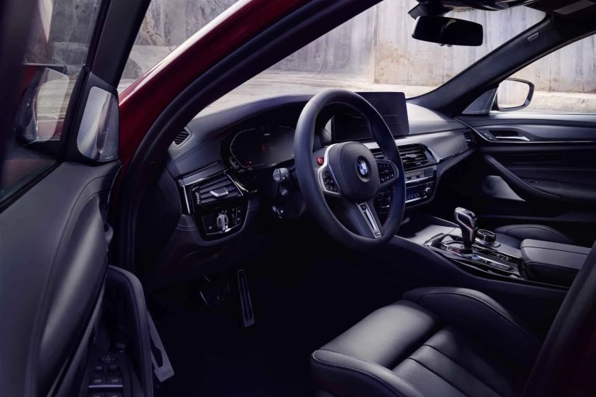 Inside the M5 Competition