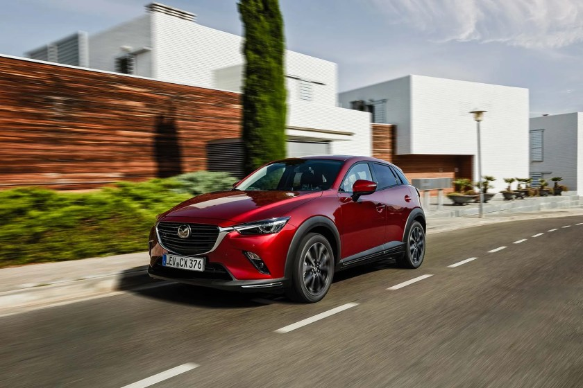 The 2020 Mazda CX-3 on sale in Ireland this August