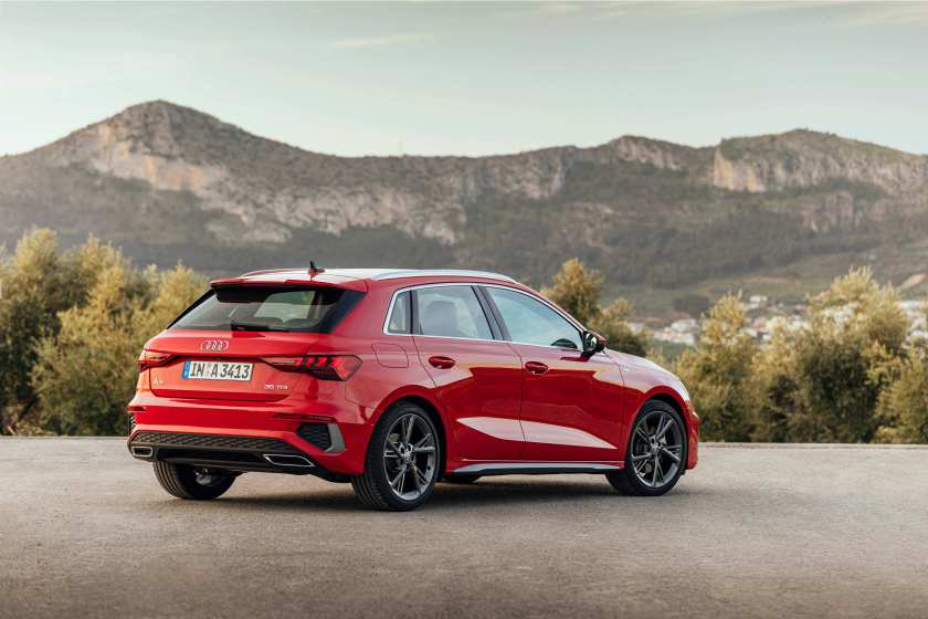 The new A3 is available with petrol and diesel engines