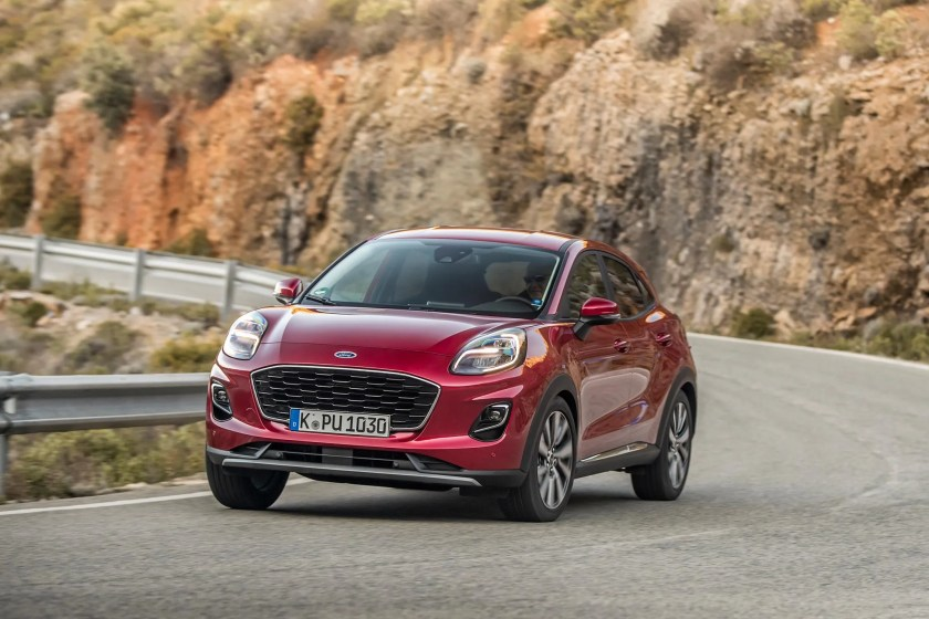 The Ford Puma Titanium kicks off the range at €24,835