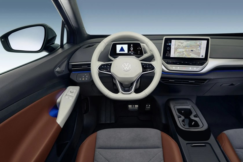 The interior of the new ID.4
