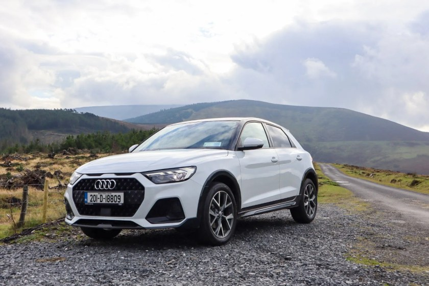 The new Audi A1 citycarver on test for Changing Lanes!