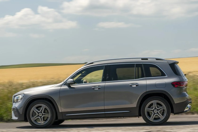 The new GLB is available as a 5 or 7 seater family SUV