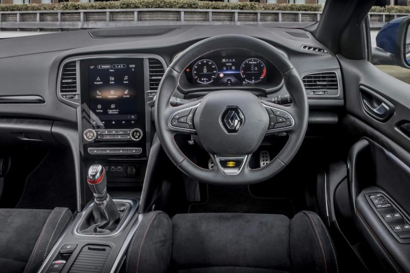Inside the new Renault Mégane R.S Line