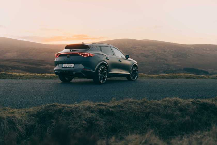 The new Cupra Formentor is available with plug-in hybrid technology
