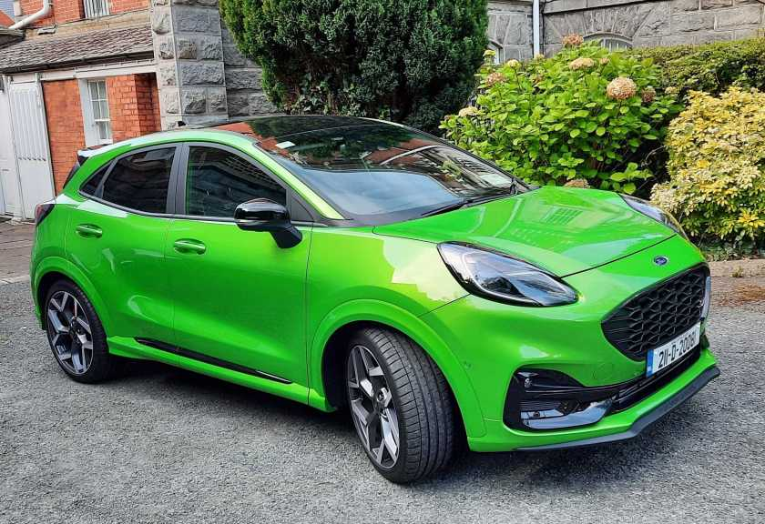The new Ford Puma ST has arrived in Ireland!