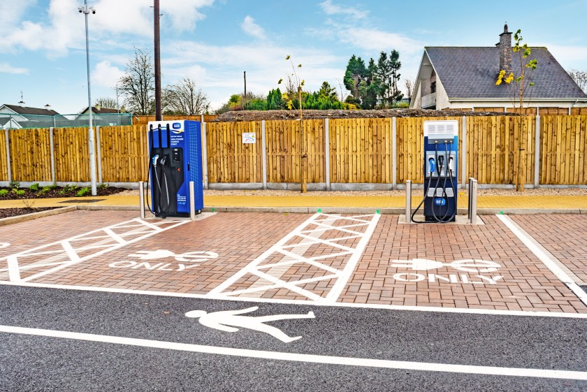 Greenergy and ESB to open new EV charge points at Amber and Inver sites across Ireland