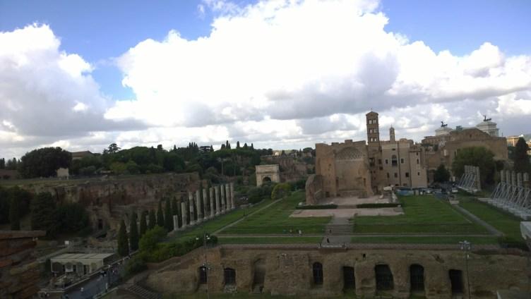 Palatine Hill and Roman Forum