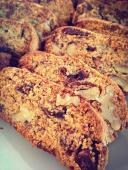 Dates and Almond Biscotti