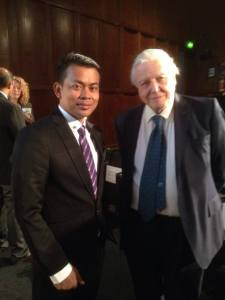 with attenborough