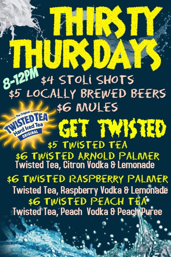 Bay Shore Thursday Specials
