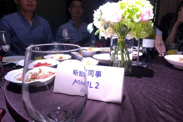 前同事的婚禮