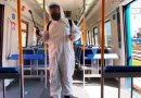PHMG: es un producto que elimina el coronavirus en superficies y se está usando en el transporte público