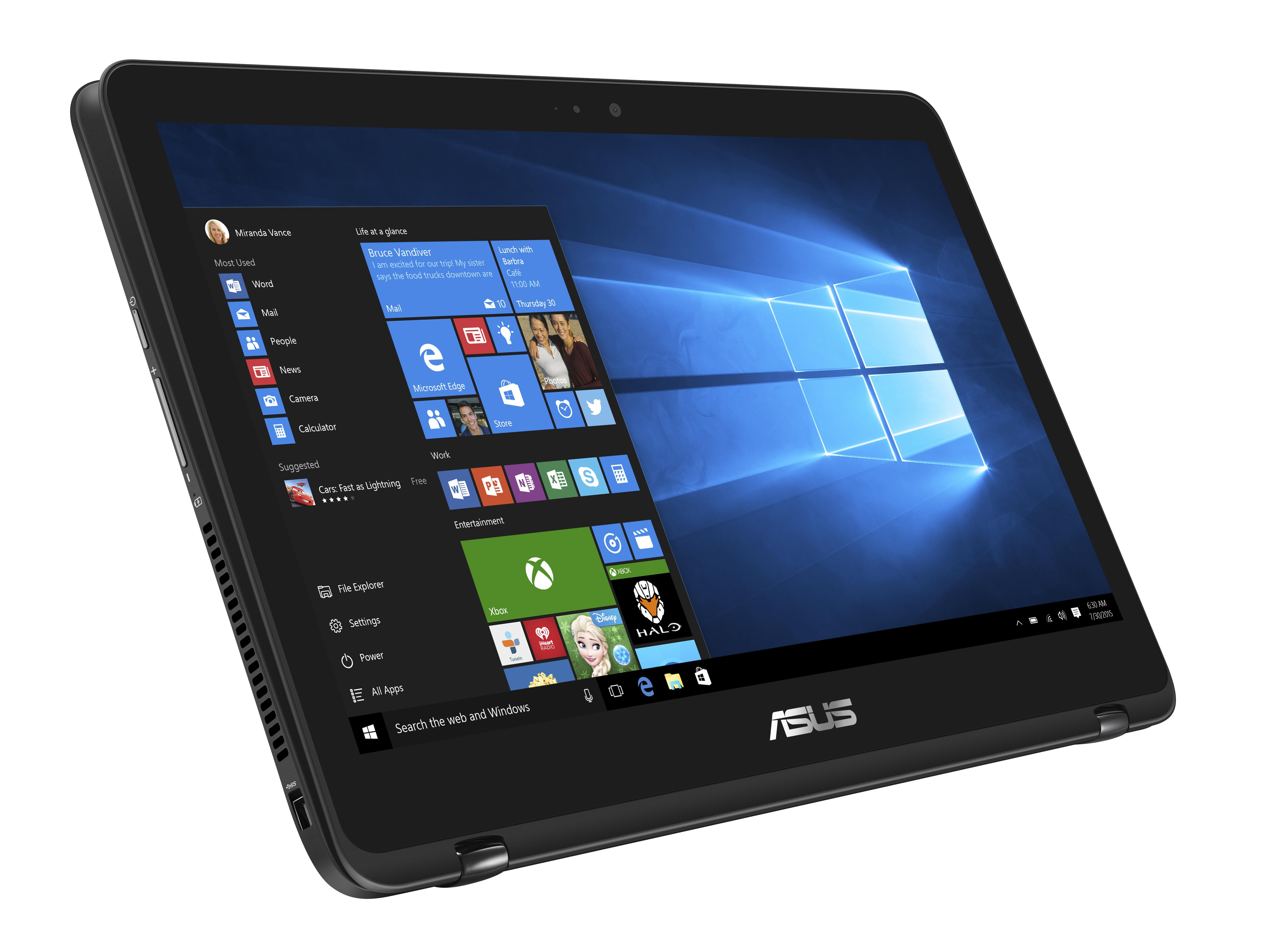 Asus Zenbook Flip Display Quality