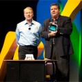 In happier times (ie: 2010), Cisco CEO John Chamber and Chief Demonstration Office Jim Grubb show off the Cius