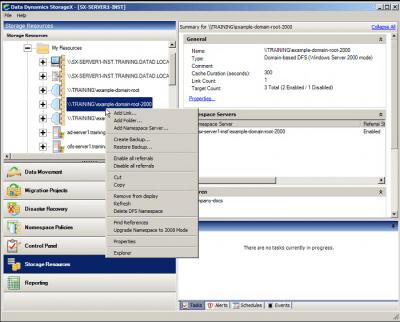 Data Dynamics StorageX 7.5 Screenshot 700